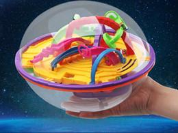 2019 bolas de labirinto Educação tridimensionais Brinquedos enigma pequeno 3D Frisbee Magic Ball Crianças Labyrinth desconto bolas de labirinto