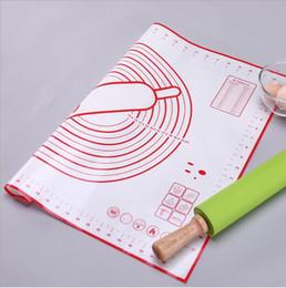 outil de pâte à pétrir Promotion Tapis de cuisson en silicone antiadhésif Machine à faire la pâte à pizza Tapisseries pour plaques de cuisson en feuilles de silicone Tapis de cuisson Rouleau de protection pour tapis