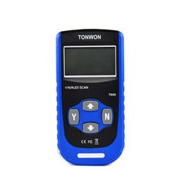 2019 obd opel 16 pin TONWON TW45 Automotiev Escáner Lector de código de automóvil Apague la bolsa de aire ABS A / T MILs Herramienta de escaneo de diagnóstico para VW / AUDI