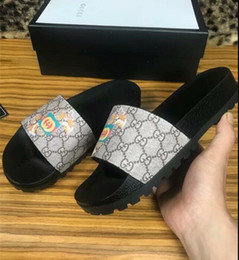 bf12577da00 girls sandals design 2019 - New Fashion Women men Casual Peep Toe sandals  female Leather Slippers