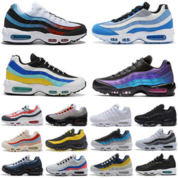 Nike Air Max 95 Teal nébuleuse JOUR DES MORTS Air runnning Chaussures Classique Hommes Femmes Laser Fuchsia OG Ultra 20 ans Hommes Baskets Sneakers