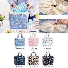 женские сумки для обеда Скидка 2019 Новый Женский Дамы Девушки Дети Портативный Изолированные Lunch Bag Box Пикник Tote Cooler Lunch Bag