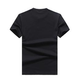 Argentina 2019 Nuevo patrón de tiempo libre para hombre diseñador de camisetas para hombre diseñador de camisetas diseñador de ropa tamaño de China # 18 cheap size t shirt Suministro