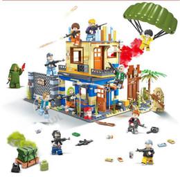 puzzle di orologio in legno Sconti Compatibile Assembly Building blocchi tecnologia militare 6 in 1 edificio blocchi giocattoli elite giocattoli piccole particelle assemblate