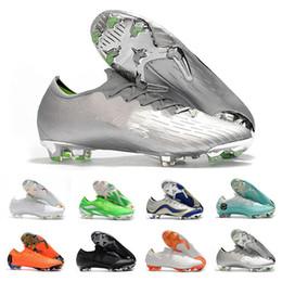 2020 scarpe Mercurial Superfly VI 360 Elite FG di calcio Mens Trainers Ronaldo Neymar Bassi Calcio morsetti di sport del progettista calza il formato