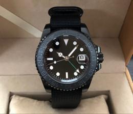 2019 хрустальная окантовка Sapphire crystal 41mm  PVD case Asian Automatic Self-Wind movement rotating ceramic bezel GMT luminous men's watch pa89-p8 дешево хрустальная окантовка