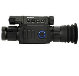 câmera escondida ao ar livre Desconto PARD NV008 Night Vision Digital Rifle Scope Caça Tático Iluminador IR Vermelho Riflezard Laser Embutido com Câmera 1080 P