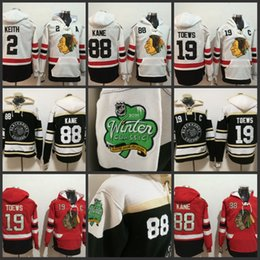 kane hockey jersey hoodie Rabatt 2019 Winter Classic Premier 19 Jonathan Toews 88 Patrick Kane 2 Duncan Keith 72 Artemi Panarin Hockey Hoodies Chicago Blackhawks Jersey