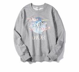 suéter de morango Desconto Moletom com capuz branco mulheres homens morango impressão moda MOS outono e inverno novo retrato retro camisola moletom com capuz oversize hip hop camisola