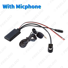 Radios de coche alpino online-Adaptador AUX módulo Bluetooth Car Audio Wireless Music Receiver para Alpine 121B 9857 9886 117 Radio Cable Aux # 6191
