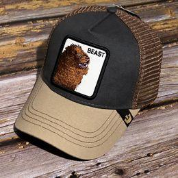 TESTA DI CANE BASE Ricamato Ball Cap Hat in vari colori