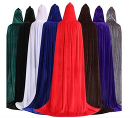 2019 flanell capes 2019 beliebte Halloween Capes Hexe Prince Cape Multicolor Flanell Cosplay Mantel Frauen Herren Designer Bekleidung Großhandel rabatt flanell capes