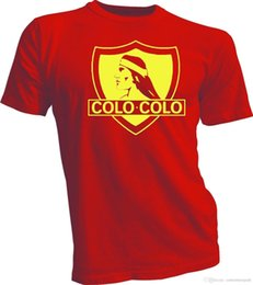 Colo Colo Chile Futbol Soccer T Shirt Camiseta Camiseta New Garridov Jersey  New T-Shirt For Men Geek Short Sleeve Crewneck Cotton XXXL Group d3de626ec
