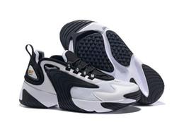 Modelo de vela online-Lo nuevo Zoom 2K Vela Blanco-Negro Azul marino Naranja Hombre Zapatillas deportivas al aire libre Estilo de baloncesto 90s M2k Tekno modelo Moda Hombre Zapatillas de deporte de diseño