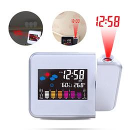 5c5dce4a336 2019 despertador projetor projetor Mesa de Projetor com luz de fundo Mesa  De Led Com Relógio