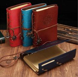 Spiral Pirate Notebook Vintage Leder Journal Garten Reisetagebuch Bücher Kraftpapier Journal Notebook Retro Klassische Buch Dekoration LT1027 von Fabrikanten