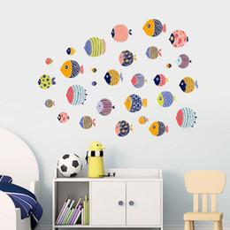 Adesivo murale scuola materna di montagna cameretta per bambini decorazione per poster dal design fresco e rimovibile