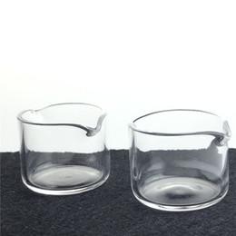 Bocca utensile online-Nuovo kit di raccolta del nettare di quarzo Dab Dish Tool con 34mm 2mm di spessore Clear Quartz 2 bocca per il tubo di quarzo di Honey Tube Smoking Pipes