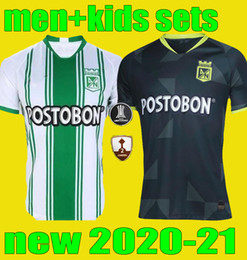 torres soccer jerseys Coupons - new 2020 2021 men KIDS Atletico Nacional Medellin Soccer Jersey sets 20 21 MORENO TORRES RENTERIA LUCUMI Child adult Football kits Shirt