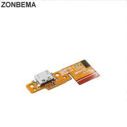 porta do conector de carregamento usb para tablet Desconto ZONBEMA New USB Dock Connector porta de carregamento Carregador Flex Cable Board Para Lenovo Tablet Pad Yoga 10 B8000 B8080