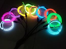 2019 construir barra de luz led 2 M 3 V Flexível Led Luz de Néon Fita de Corda de Fio de Corda Luzes de Néon Sapatos Sapatos Interior À Prova D 'Água tira conduzida