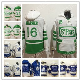 60a6f8a1f65 Toronto Maple Leafs Pullover St Pats John Tavares Auston Matthews Mitch  Marner William Nylande Morgan Rielly Frederik Andersen Hoodie