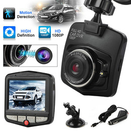 sensores de cámara de visión Rebajas 2019 Nueva original HD 1080P visión nocturna cámara del coche DVR del tablero de instrumentos Video Recorder Dash Cam G-sensor de envío