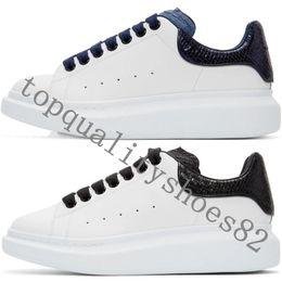 2020 Designer Herren Damen Freizeitschuhe Mode Plattform Turnschuhe Turnschuhe Luminous Fluorescent Schuh Schlange Zurück Leder Vintage Schuhe
