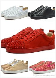 403c4bd4a0afc7 custom canvas sneaker Australia - High-end custom metal studded spikes  casual shoes 2018 new