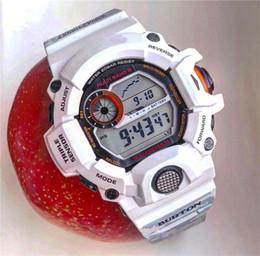 GW9400 Reloj deportivo para hombre con caja de instrucciones A prueba de golpes Hora mundial LED Choque en todas las funciones Trabajo Relojes deportivos al por mayor desde fabricantes