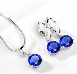 Argentina Moda mujer joyería fina 18 K oro verdadero plateado sistemas de la joyería para las mujeres pendientes de perlas de calidad superior colgante conjuntos de collar Suministro