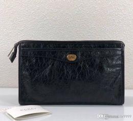 карманный пресс Скидка 2020 горячая новая мужская сумка с блокировкой G 575991 роскошная дизайнерская сумка на молнии клатч модный стиль с коробкой