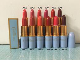venda por atacado original da composição Desconto Frete Grátis ePacket Nova Maquiagem Lábios 3g Cinderela Lustre Batom! 12 Cores Diferentes