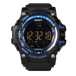 EX16 Smart Watch Bluetooth 1.12 круглый экран полноэкранный дисплей Водонепроницаемый Wi-Fi кнопка режима связи батарея не нужно заряжать для Android от