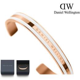 Argentina Nueva Llegada de Joyería de Moda Para Hombre Para Mujer Daniel Wellington Marcas Relojes Accesorios Unisex Clásico Pulsera de Oro Rosa 316L Dw Pulseras Suministro
