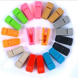 clavijas de ropa de plástico Rebajas Clavijas para ropa de servicio pesado Perchas de plástico Bastidores Pinzas para la ropa Prendedores para ropa Clavijas para colgar Clips ABS Resuable