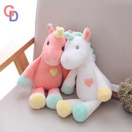 plush rainbow unicorn toy unicornio stuffed animals Owl doll toys for  children Chrismas fantastic Gift for children   baby girls f81c2a46d852