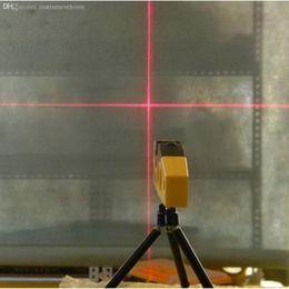 Ebene stative online-Wholesale-Mini Line Laser Level Marker TD9B 160-Grad-Laser-Bereich mit verstellbarem Stativ Neu
