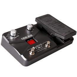 Processeur multi-effets pour guitare JOYO GEM Box 8 types d'effets 60 types d'effets Chorus Delay Drive Guitares électriques à 7 cordes ? partir de fabricateur