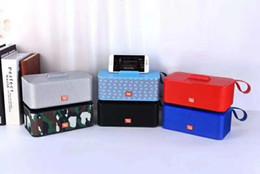 3w player en Ligne-Date Bluetooth Mini Haut-Parleur TG802 Sans Fil 2 * 3W Stéréo Soundbox avec Support de Téléphone Prend En Charge USB TF MP3 Lecteur de Musique Haut Parleur