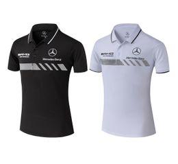 Vêtements de sport polo en Ligne-HOT Mode voiture de sport Marque Polo Pour Homme TL002 classique cool Designer été Hommes à manches courtes Revers T-shirts Vêtements de sport occasionnels t-shirts