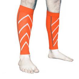 1 par de becerro de apoyo graduado de compresión calcetines de manga de la pierna ejercicio al aire libre deporte seguridad AIC88 desde fabricantes
