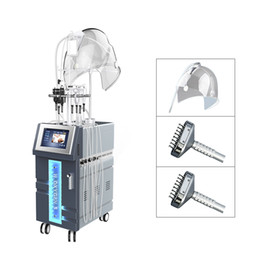 Máquina de enfriamiento facial online-Hydra Dermabrasion Machine 10 en 1 con ultrasonidos RF BIO Refrigeración Oxígeno Microdermabrasion Agua Dermabrasion Hydro Máquina facial