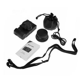 digitalkamera objektivfilter Rabatt AMKOV CDR2 CD-R2 Digitalkamera-Camcorder mit 3-Zoll-TFT-Bildschirm mit UV-Filter 0.45X Super-Weitwinkelobjektiv