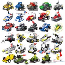 brinquedos de jardim de infância Desconto pequenas partículas Mini quebra-cabeça montado pequenos blocos militares aviões tanques de construção do jardim de infância presentes brinquedos bloco das crianças educationa