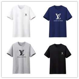 Moda V Diseñador de algodón camiseta Stussy Boss básico camisetas para  hombre blusa para mujer de impresión Real Madrid camiseta casualpop  impresión madrid ... eaf5475843e3c