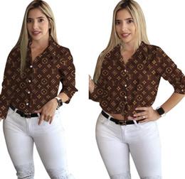 Argentina Blusas de las mujeres de moda de las señoras de los botones Oficina ocasional frontal de la manga de la pajarita cuello largo adelgazan las camisas de las tapas S-XXL C665 Suministro