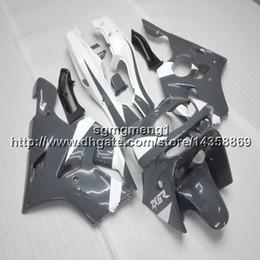 Deutschland Schrauben + Geschenke graue Motorradhaube für Kawasaki ZX-6R 1994-1997 ZX-6R ABS Plastikverkleidung cheap 1994 kawasaki ninja plastic Versorgung