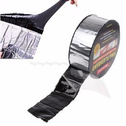 ruban d'étanchéité en caoutchouc Promotion Joint adhésif de bande de caoutchouc butylique de papier aluminium meilleur pour la réparation marine de toit de RV Q190605