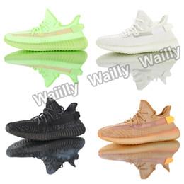 Erkek V2 Ayakkabı Pembe GID 350 s Kanye West Sneakers Tüm Siyah Statik Bütün Yansıtıcı Tam Spor Rahat Kil Beyaz Zebre Oreo Bred Trainer cheap wholes shoes nereden ayakkabı tedarikçiler